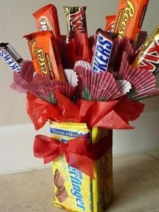 Candy Bouquet from Pinterest