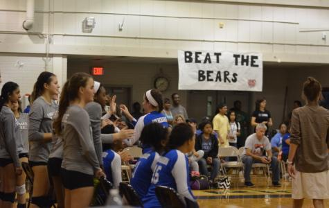 Volleyball team keeps title as district champs