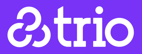 The app Trio was launched March 6, 2015. This is the company logo.