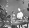 An old PBS studio photograph. Just picture Olivia and I, interns extraordinaire, standing happily behind the set.