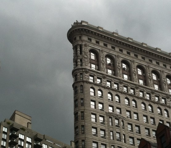 The Flatiron Building right after my meeting with Jessica Preeg. Photo by Willa Smith.