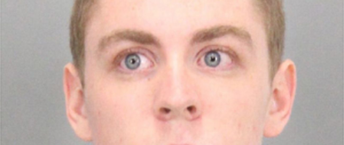 Brock Turner was convicted of sexually assaulting an unconscious woman on Stanford's campus in 2015. (Photo courtesy Santa Clara County Sheriff's Office/TNS)