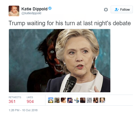Tweet by @katiedippold
