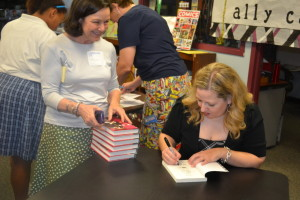 Ally Carter signing stock