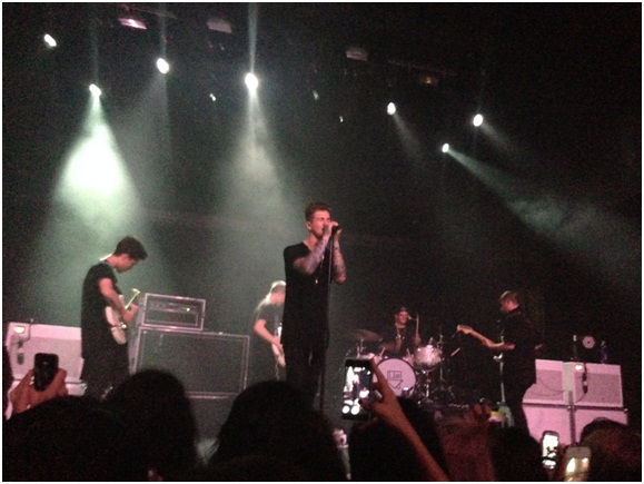 101x presented The Neighbourhood last Friday at Emo's