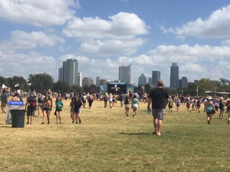 ACL day one, weekend two. The festival starts at around 11:30 in the mornings.