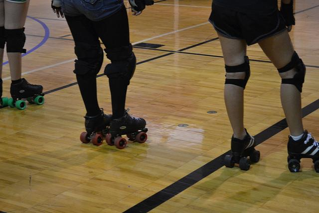 Ann Richards Roller Girls pioneer roller derby in schools