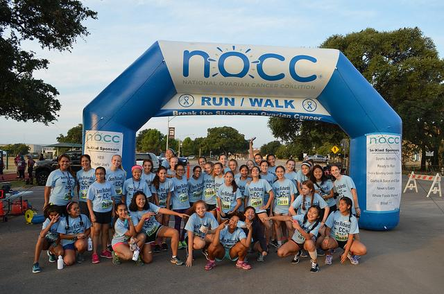 The+team+gathers+together+before+the+NOCC+5k+race.++