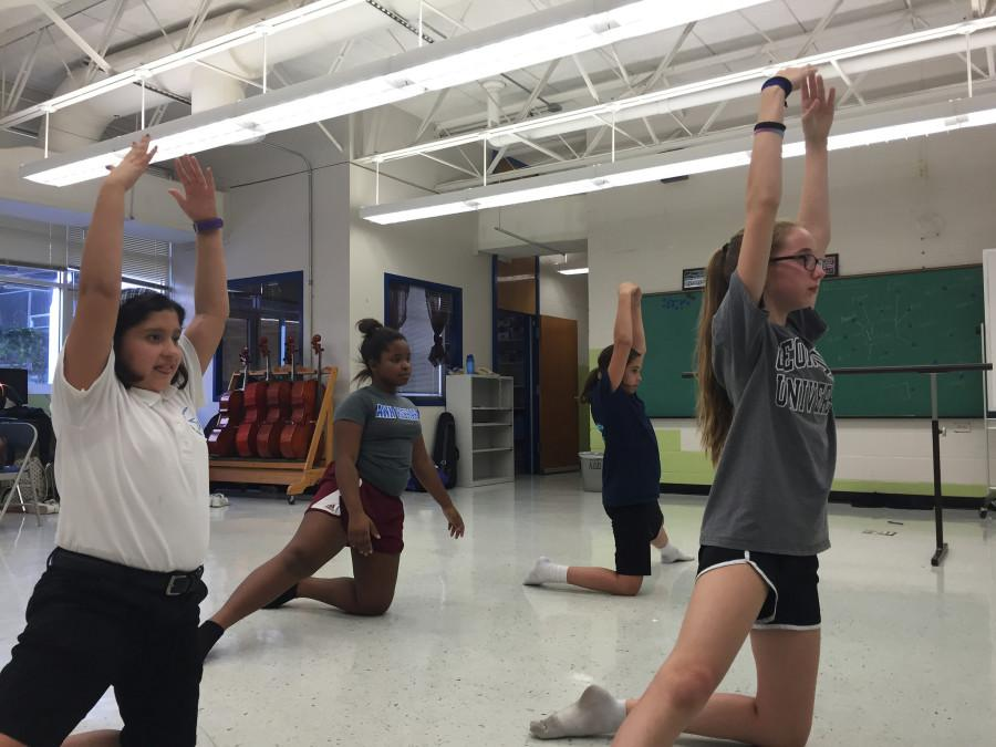 Dance your heart out: Sixth graders create middle school dance team two weeks into the school year