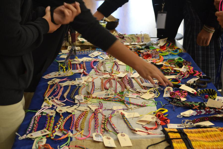 A Service Charm: Service club sells bracelets to support Nicaraguan artists