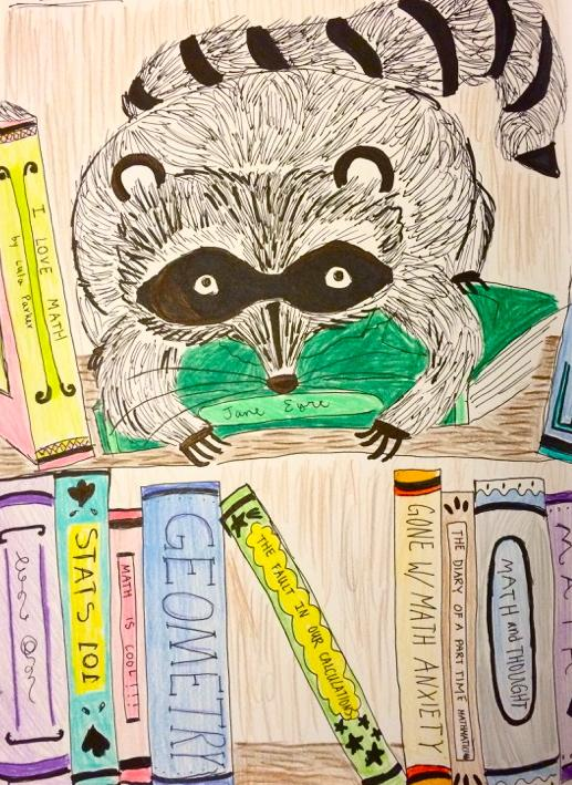Caught Sleeping in Math Class: Raccoon on campus stirs up wild reactions
