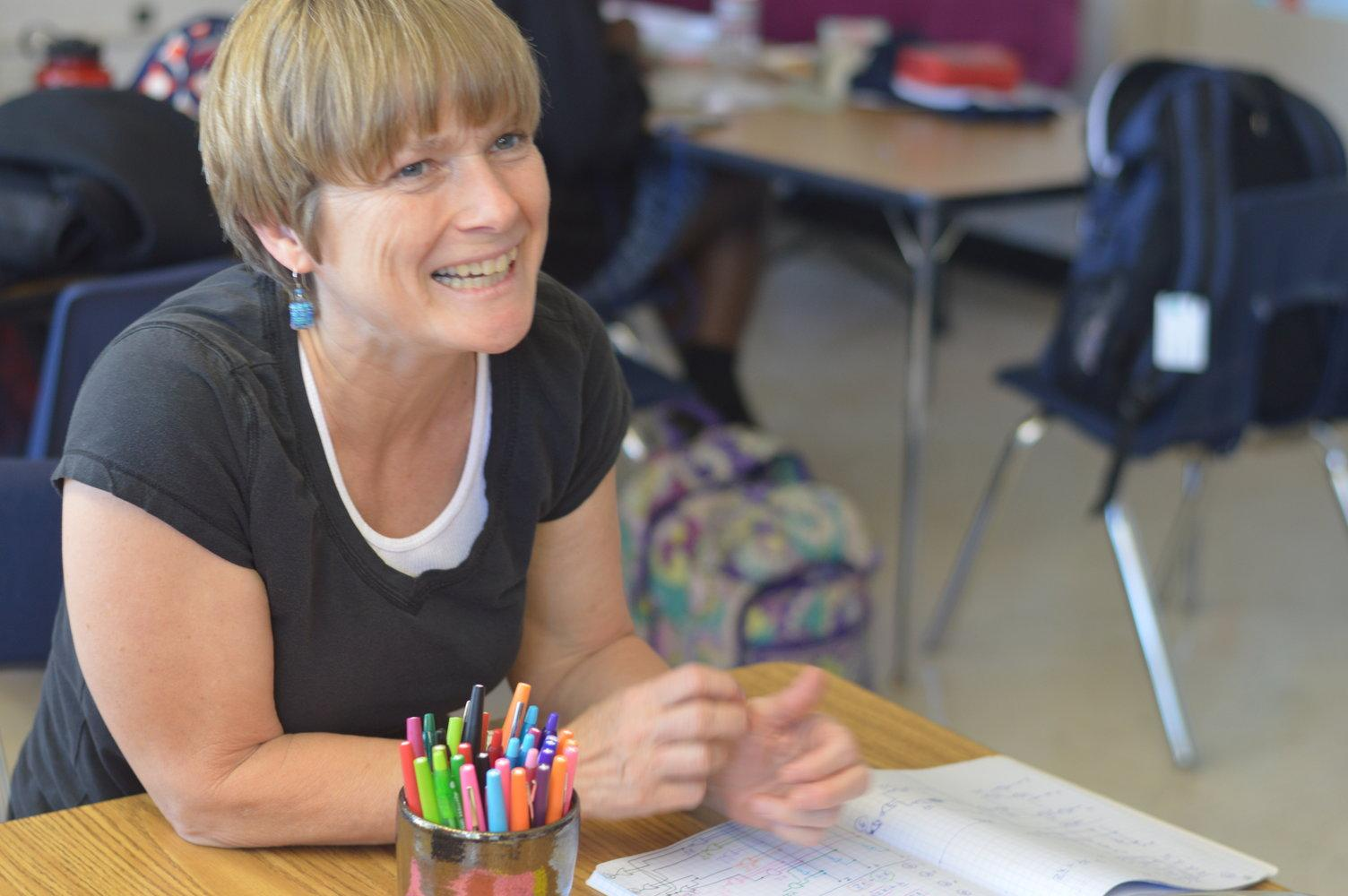 Under construction: Infinite works in progress and one Teacher of the Year