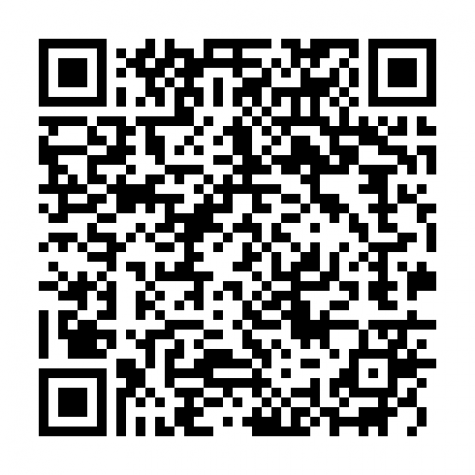 The difference between the light waves, caused by gravitational wave activity, was translated into a sound. Scan the QR code to hear the resulting noise.