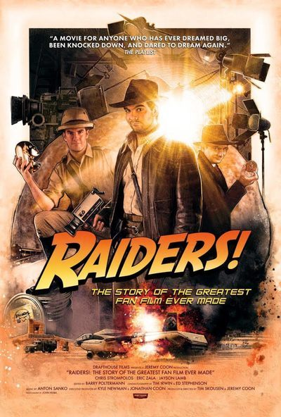 Raiders! Movie was made by fans over the course of almost three decades.