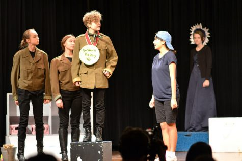 A pretty sweet adventure: Middle school UIL play Two Donuts