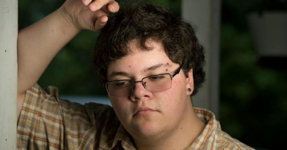 Gavin Grimm presents his case to Supreme Court officials on March 28th via commondreams.org