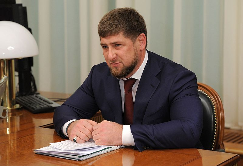 Ramzan+Kadyrov%2C+leader+of+Chechnya+in+a+meeting.+Courtesy+of+Wikipedia+Creative+Commons.