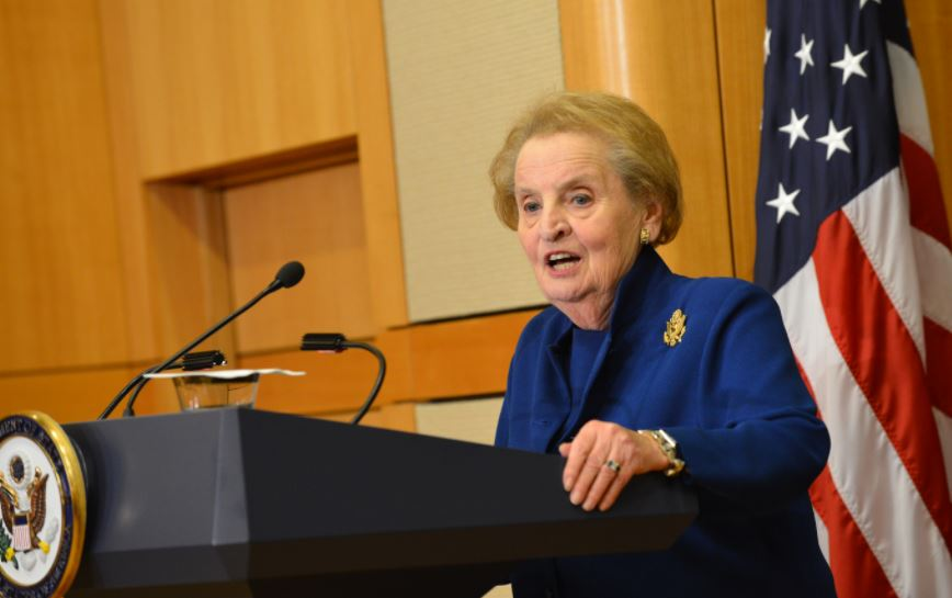 Albright, Albright, Albright: Seniors attend interview with Madeleine Albright at LBJ Library