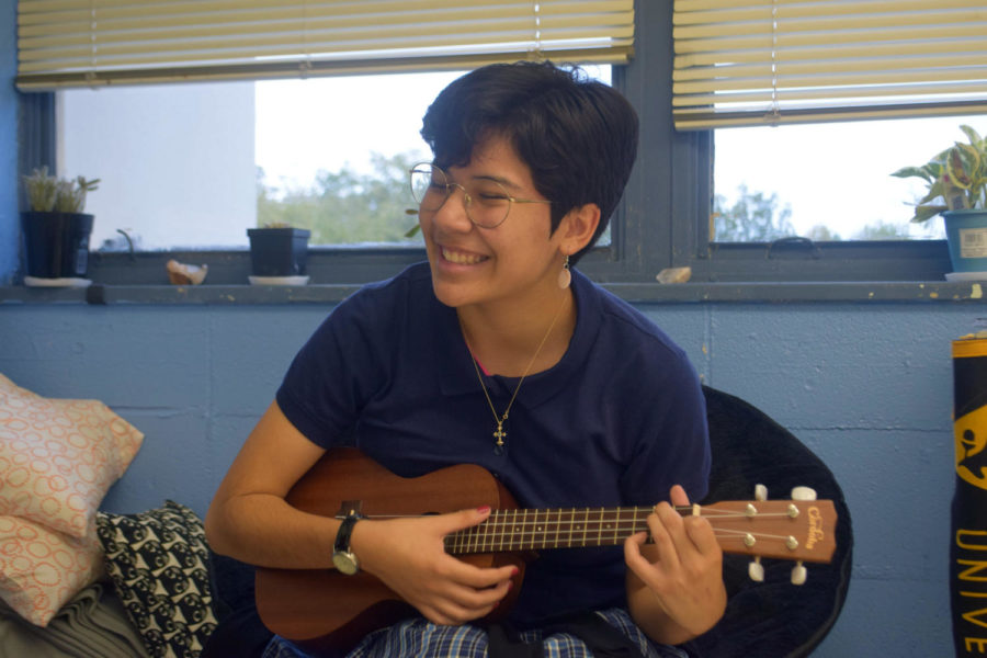 Strumming along: Ukulele club booted up by members of the class of 2019