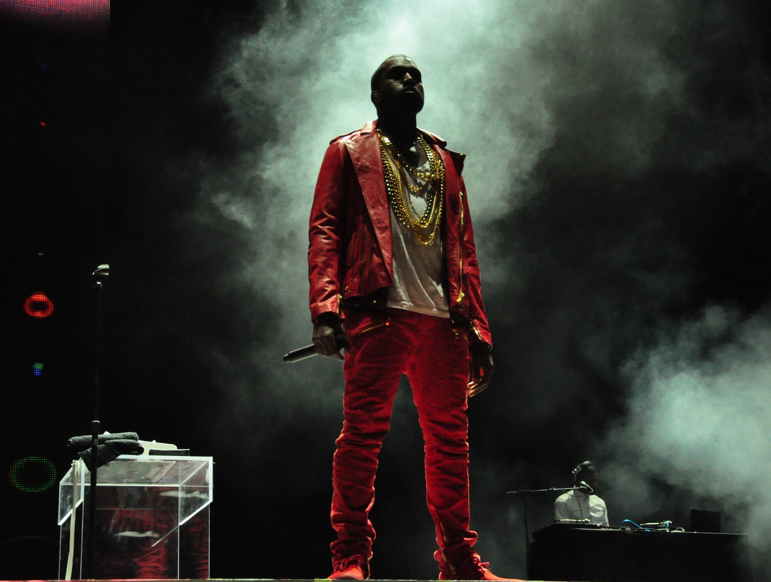Artist Kanye West, credit Wikipedia Commons.