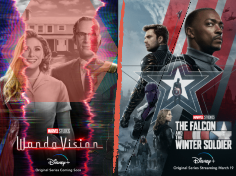 WandaVision & The Falcon & The Winter Soldier are Marvel Studios first two television series