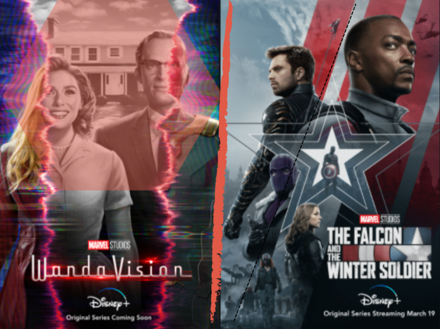 WandaVision & The Falcon & The Winter Soldier are Marvel Studios' first two television series